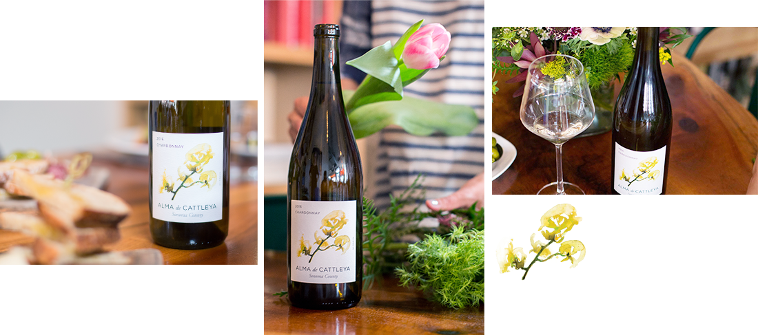 alma de cattleya chardonnay collage