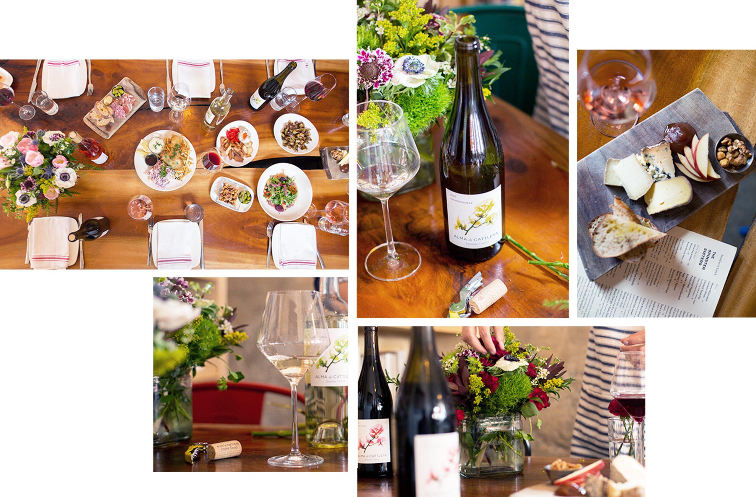 alma de cattleya wines food farm collage