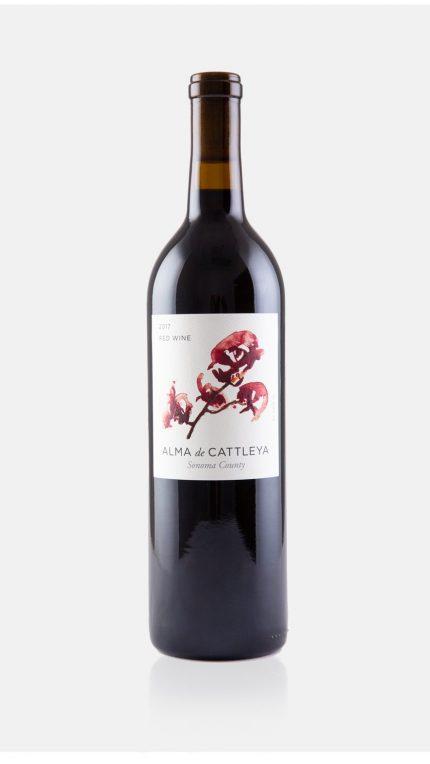 2017 Red Wine Bottle